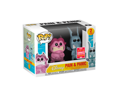 Funko Pop Disney Hercules Pain Panic SDCC 2018 Exclusive Limited CONFIRMED