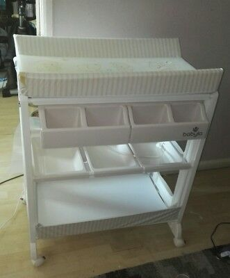 Babylo baby changing table / station with bath and storage *damaged see pics*