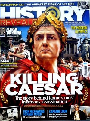 History Revealed Magazine #32 Killing Caesar ~ The Modern Olympics ~ Wwii Burma
