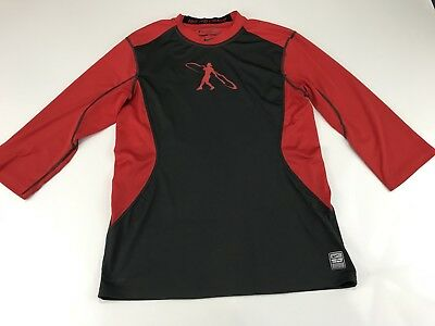 Nike Pro Combat Youth Boys Baseball Shirt Size Medium F210