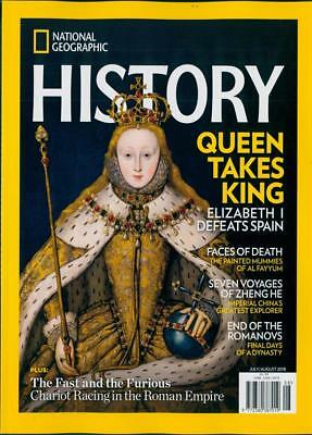 National Geographic History Magazine July / August 2018 ~ New ~
