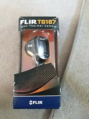 FLIR TG167 Spot Thermal Camera - Used in Excellent Condition - Box Ripped