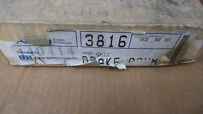 Brand New Aimco Rear Brake Drum 3816 / 123.11003 Fits Vehicles Listed On Chart