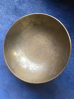 Old Chinese Bronze Bowl