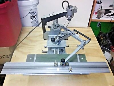 New Hermes IM-3 Engravograph Engraving Machine + Master Copy Type+Slide+Cutters