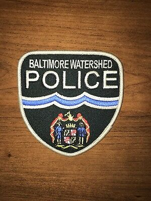 Watershed Police Patch NEW