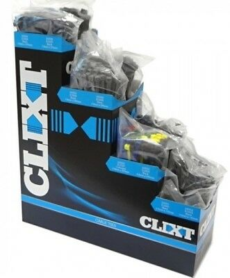Clixt Cable Tie Dispenser Box with 1000 Cable Ties