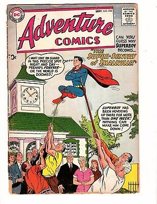 Adventure #252    Dc 1958 G/vg Kirby/green Arrow Classic Hard To Find Rare