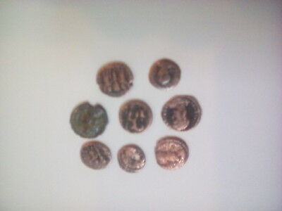 Ancient roman coin 8 piece lot