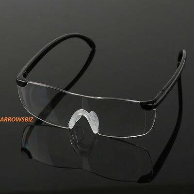 HANDS FREE MAGNIFYING GLASSES MAGNIFIER +250% For READING SEWING KNITTING PARENT
