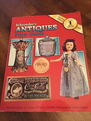 Schroeder's Antiques Price Guide 1994 Twelve Edition Values of over 50,000