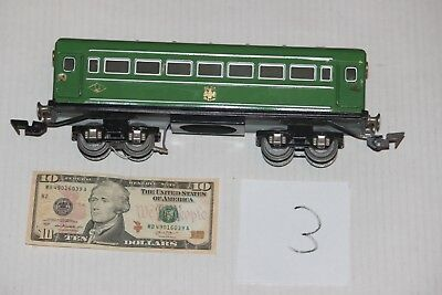Russian passenger car for Marklin Bing Lionel  Russia , tin toy from 1960 years