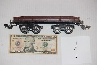 Russian flatcar for Marklin Bing Lionel  Russia , tin toy from 1960 years.