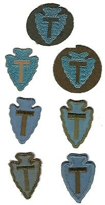 WW II and earlier 36th Infantry Division patches lot group