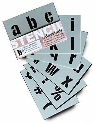 BIG ALPHABET STENCIL LETTERS SYMBOLS 50mm Tall 1.96 6 X Sheets 200 X 148mm CASE