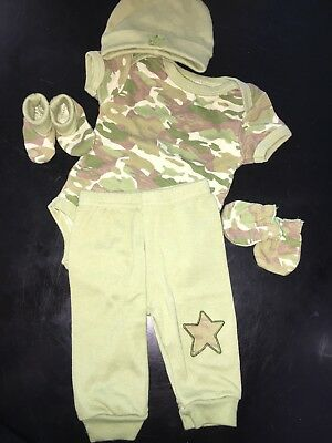 Baby Camo Outfit 0-3 Month