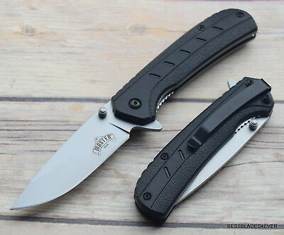 Master Usa Spring Assisted Tactical Knife With Pocket Clip