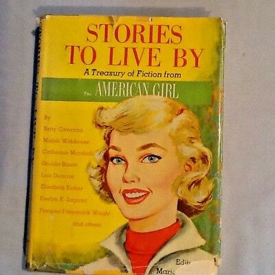 STORIES TO LIVE BY American Girl Scouts Marjorie Vetter 1960 COLLECTOR  GIFT