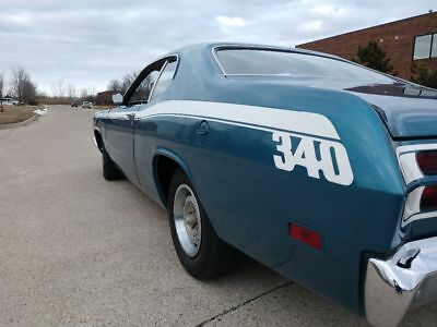 1970 Plymouth Duster  1970 340 4 speed Plymouth Duster