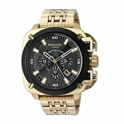 7fbb0ae73a1 Diesel Bamf Chronograph Date Gold-Tone Stainless Steel Men s Watch Dz7378  New