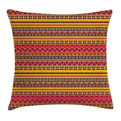 Colorful Drawing Throw Pillow Cases Cushion Covers Home Decor 8 Sizes Ambesonne