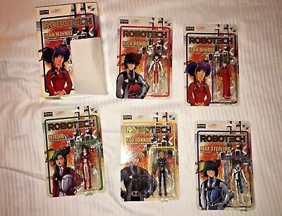 SDCC 2018 Toynami Robotech Poseable Action Figures 5 Pack COMIC CON Exclusive