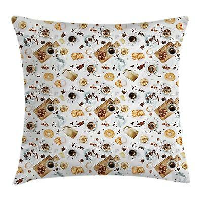 Kitchen Theme Throw Pillow Cases Cushion Covers Home Decor 8 Sizes Ambesonne