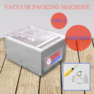 Commercial Vacuum Packing Sealing Machine Sealer Kitchen Storage Packaging 120W