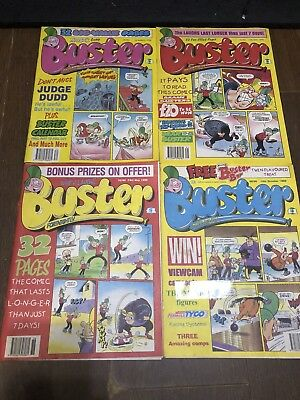 Buster Fortnightly Comics X 4