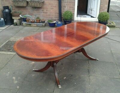 Regency Extending Dining Table Flame Mahogany ☆Free Delivery See Info ☆