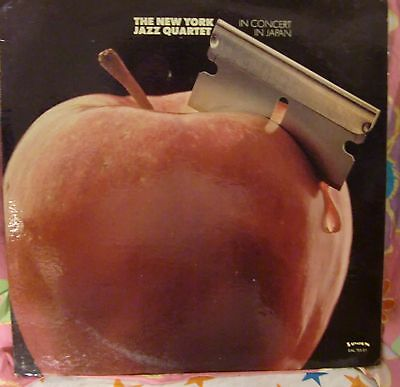 """12"""" Very Rare Lp In Concert In Japan By The New York Jazz Quartet (1975) Salvati"""