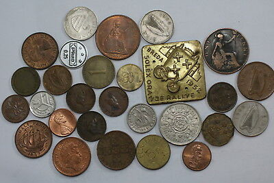 Many Old World Coins Useful Lot A88 Rzn28