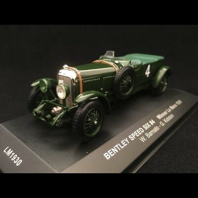 Bentley Speed Six vainqueur Le Mans 1930 n° 4 Barnato 1/43 IXO LM1930