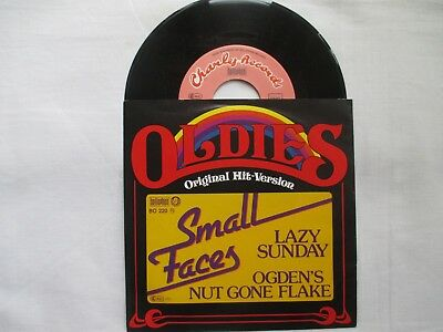 """SMALL FACES - """" LAZY SUNDAY """"   Single - """" Oldies Hit - Version  """""""