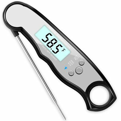 GDEALER Waterproof Meat Thermometer Digital Super Fast Instant Read Thermometer