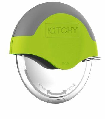 Kitchy Pizza Cutter Wheel - Super Sharp and Easy To Clean Slicer, Kitchen Gadget