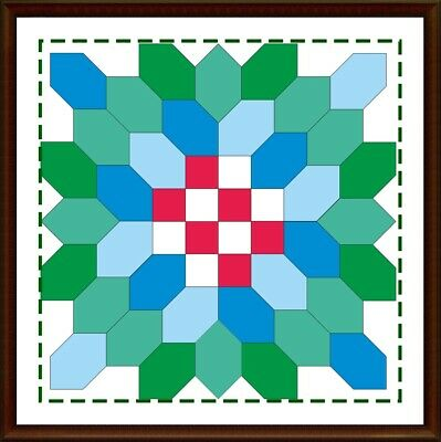 Template for cutting and patchwork - Lucy Boston