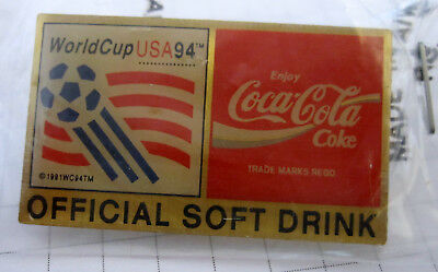 Coca-Cola WorldCup USA 94 Official Soft Drink - Pin