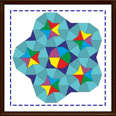 Template for cutting and patchwork - Penrose