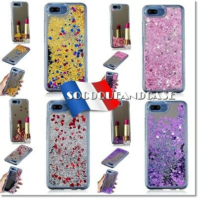 Etui Coque Housse Silicone Paillettes Dynamic Glitter cover pour HUAWEI Honor 10