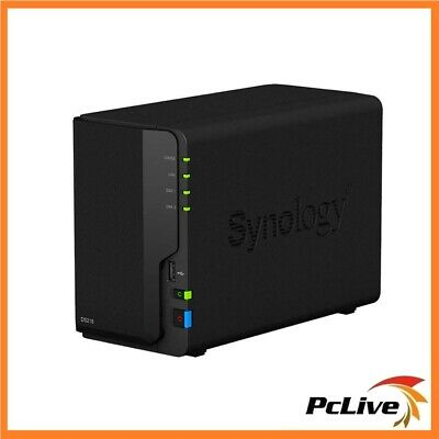 Synology DiskStation DS218 2-bay NAS Server Cloud Network Storage Backup File