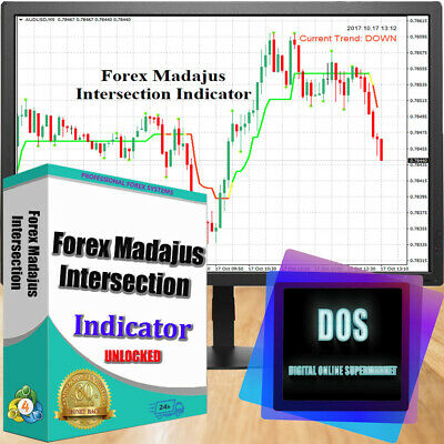 Ultra-precise forex indicator Forex Madajus Intersection for MT4