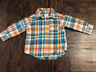 Carters 18 Month Long Sleeve Button-Up