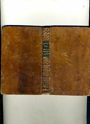 Four Months Tour Through France-1776-Leather-Lovely Inscription To A Young Woman