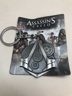 Assassins Creed Syndicate Keyring Official Promo Ubisoft Xbox One 360 PS4 PS3