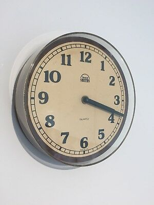 Vintage Retro Smiths Timecal Bakelite Wall Clock WORKING