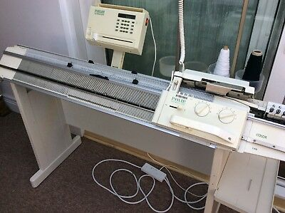Passap E6000 Knitting Machine With 4 Colour Changer, Manuals And Accessories