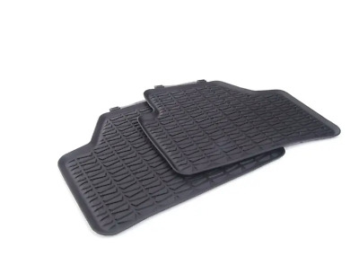 New Genuine BMW X1 E84 All Weather Rubber Floor Mats Rear Pair 2336795 OEM