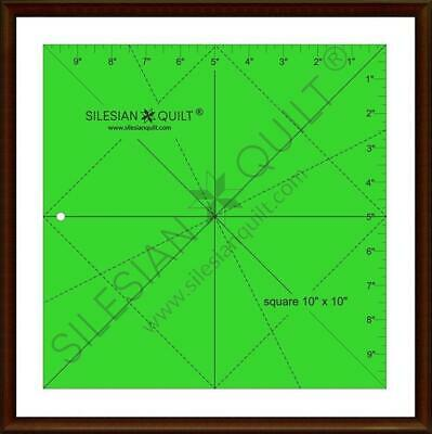 Template for cutting and patchwork - Square