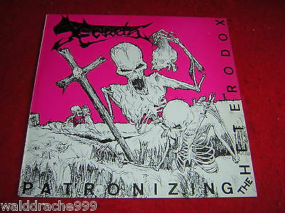 X - Creta, Patronizing the Heterodox, red Cover, TORBO 6  Vinyl LP 1986